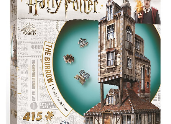 Wrebbit 3D, The Burrow – The Weasley's Family Home, 415 pcs