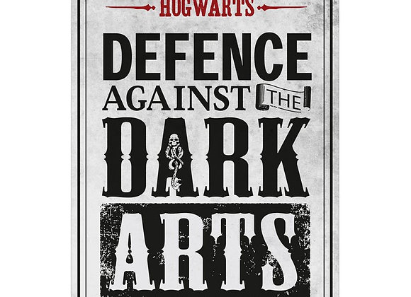 Harry Potter Tin Sign - Defence Against The Dark Arts