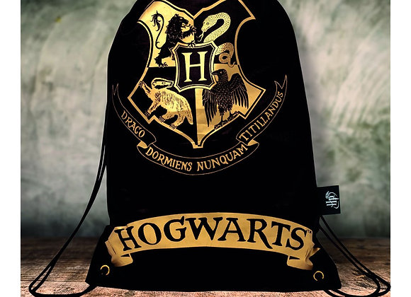 Harry Potter Draw String Bag - Black