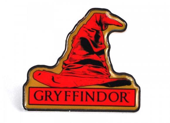 Harry Potter Pin Badge - Gryffindor Sorting Hat