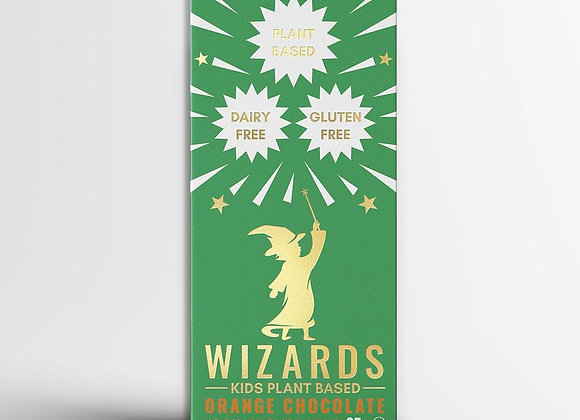 The Wizards Kids - Plant Based Orange Chocolate