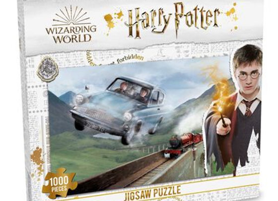 Harry Potter 1000 Piece Jigsaw Puzzle - Chamber of Secrets