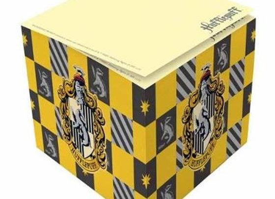 Harry Potter: Hufflepuff Memo Cube