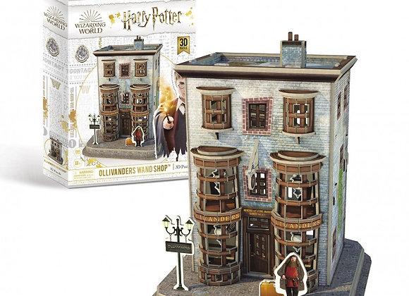 Harry Potter - Diagon Alley Olivanders Wand Shop 3D Model Kit