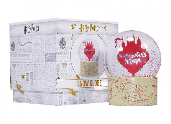 Harry Potter Snow Globe - Marauder's Map