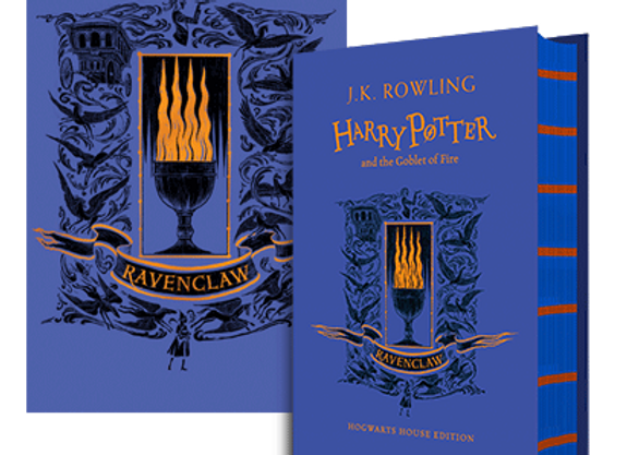 Ravenclaw House Edition of Harry Potter and the Goblet of Fire