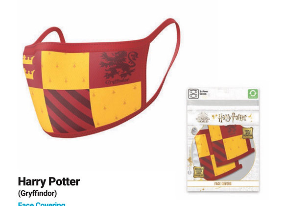 Harry Potter Gryffindor Face Coverings 2 Pack