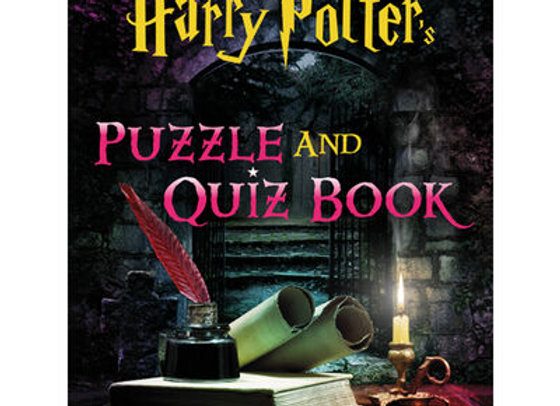 The Unofficial Harry Potter Puzzle and Quiz Book