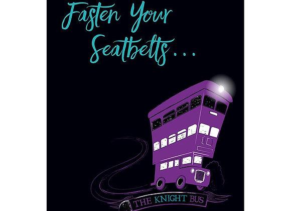 Harry Potter Knight Bus Pop-Up Card