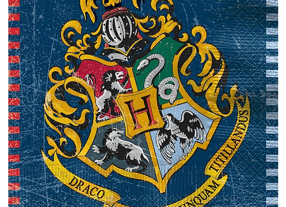 Harry Potter Luncheon Napkins - 33cm