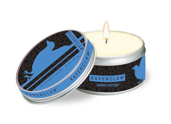 Harry Potter Ravenclaw Scented Tin Candle: Small, Clove and Cedar
