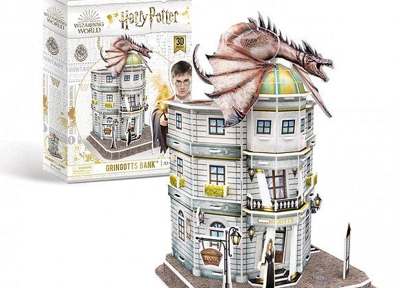 Harry Potter - Diagon Alley Gringotts Bank 3D Model Kit