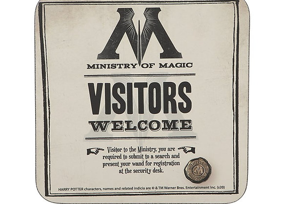 Harry Potter Ministry of Magic Coaster