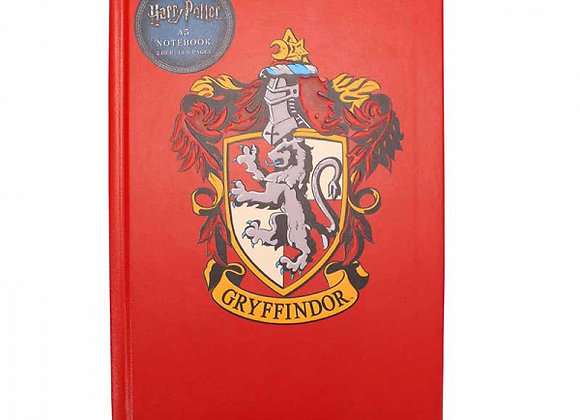 Harry Potter A5 Premium Notebook - Gryffindor