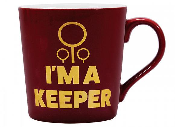 Harry Potter Tapered Mug - Quidditch (I'm A Keeper)