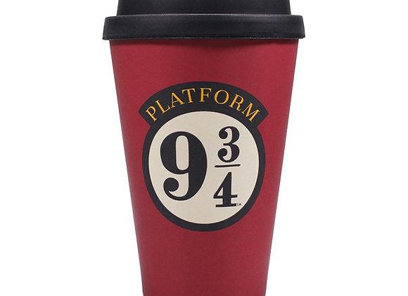 Travel Mug (Bamboo) - Harry Potter (Platform 9 3/4)