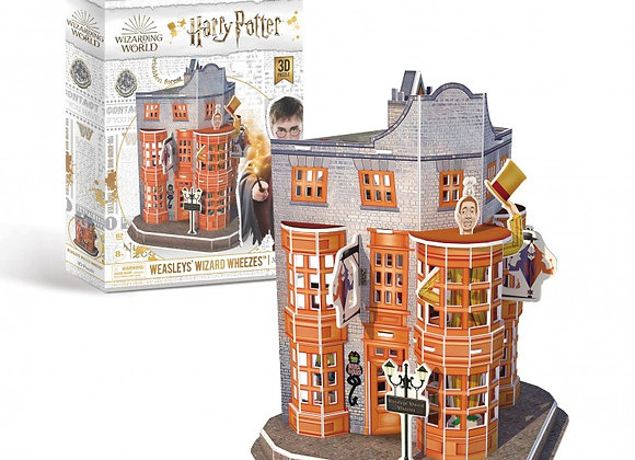 Harry Potter - Diagon Alley Weasleys' Wizard Wheezes 3D Model Kit