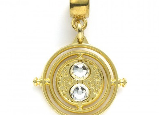 HARRY POTTER FIXED TIME TURNER SLIDER CHARM