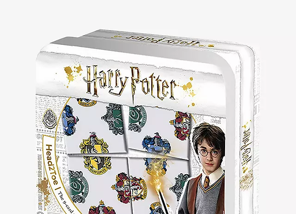 Harry Potter Hogwarts House Head 2 Toe 9 Card Puzzle Challenge