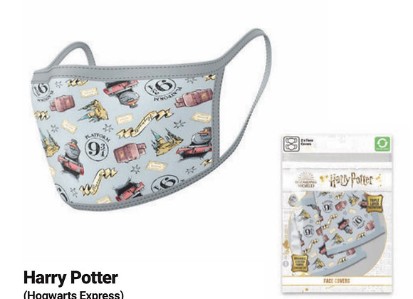 Harry Potter Hogwarts Express Face Coverings 2 Pack