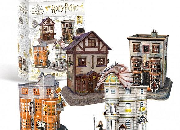 Harry Potter - Diagon Alley 4-in-1 3D Model Set