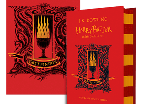 Gryffindor House Edition of Harry Potter and the Goblet of Fire Hardback
