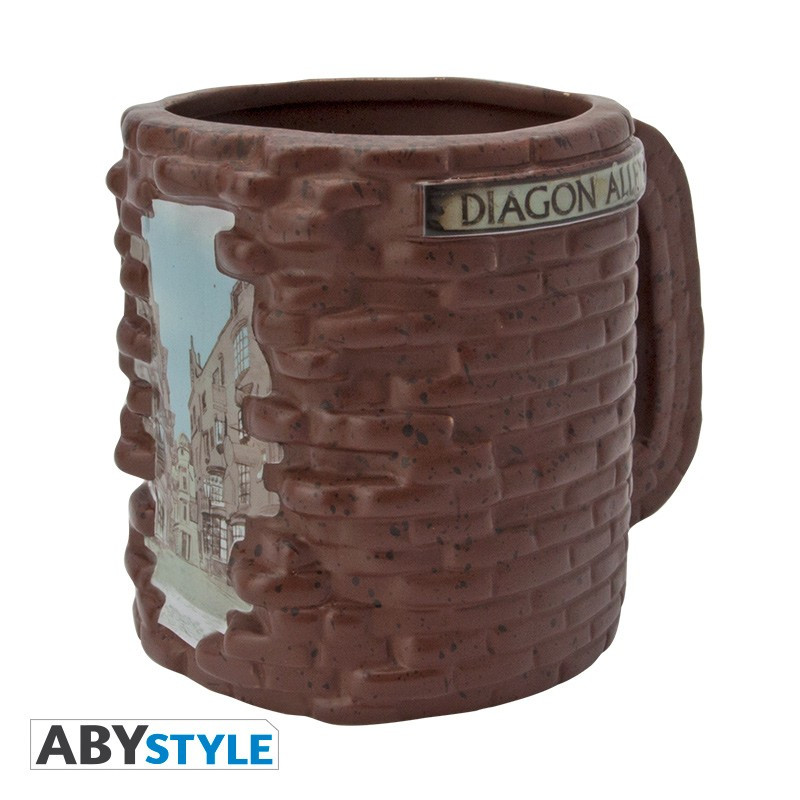 Diagon Alley 3D Mug