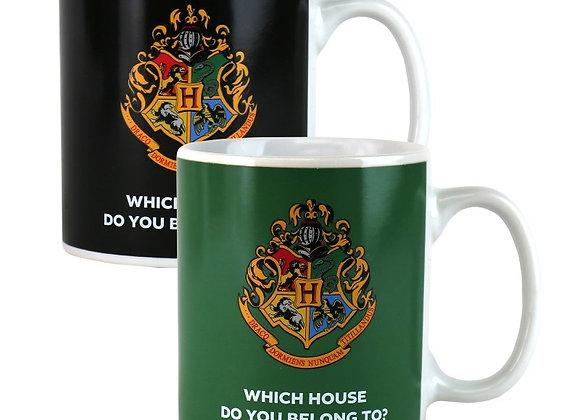 Harry Potter House Reveal Heat Change Mug