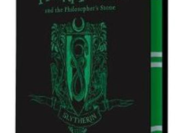 Harry Potter and the Philosopher's Stone Slytherin Edition Hardcover