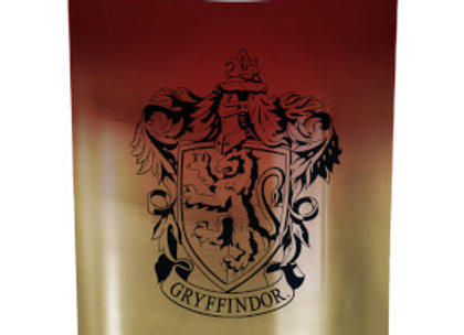 Harry Potter Large Glass Candle - Gryffindor