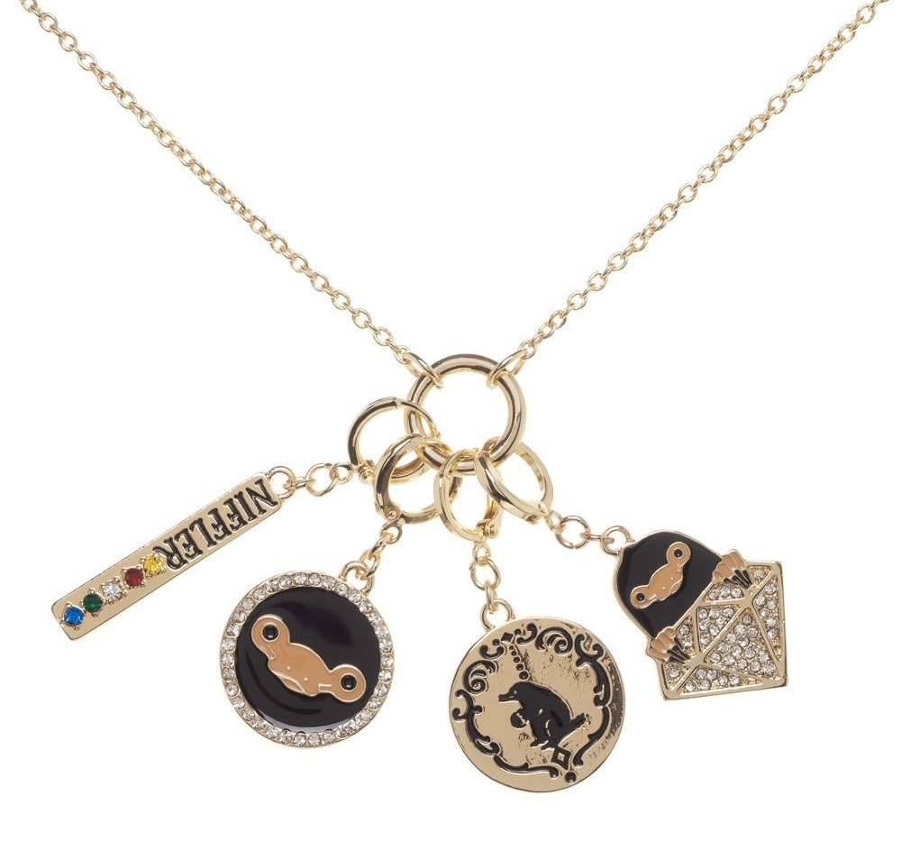 Niffler charm necklace
