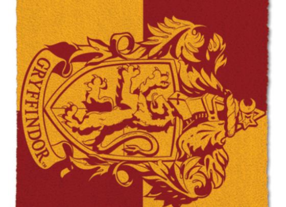 Gryffindor House Crest Door Mat