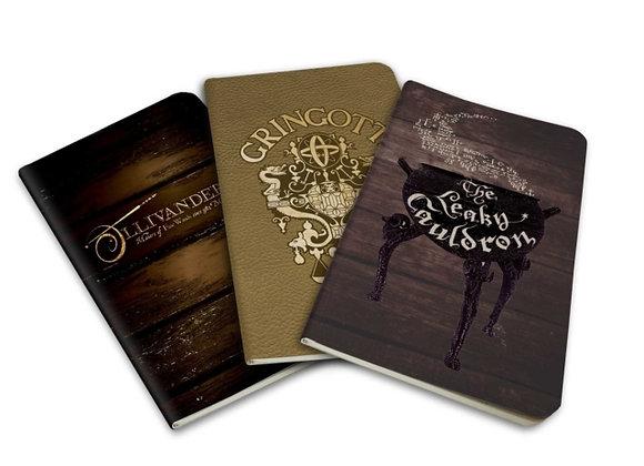 Diagon Alley Pocket Notebook Set