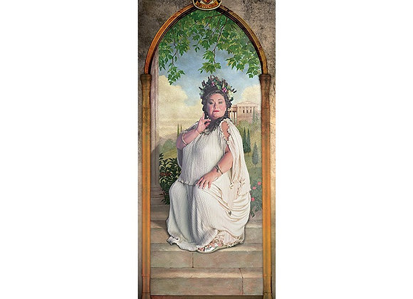 Harry Potter Door Poster - The Fat Lady
