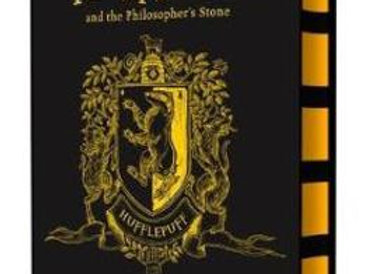 Harry Potter and the Philosopher's Stone – Hufflepuff Edition Hardcover