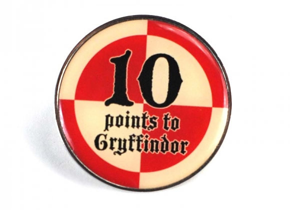 Harry Potter Pin Badge - 10 Points to Gryffindor