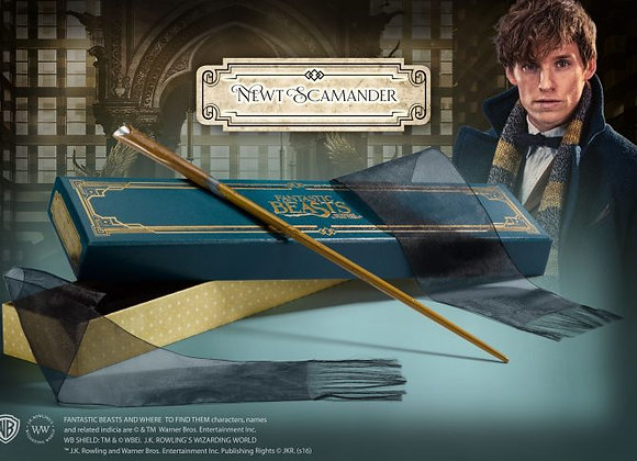 Newt Scamander Wand in Collector's Box - Noble Collection