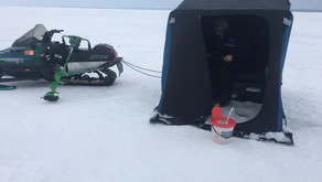 Our First Ice Fishing Adventure in 2020