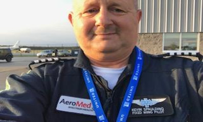 Kevin Spaulding, Northflight AeroMed pilot for Spectrum Hospitals