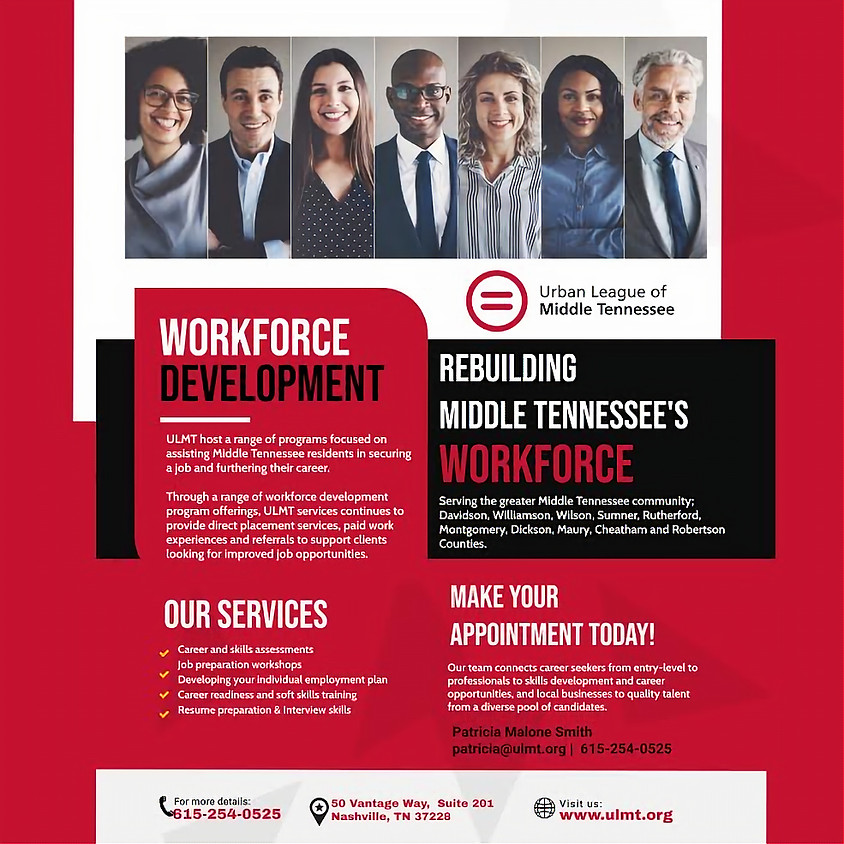 ULMT Workforce Development Virtual Event (Session 2 @ 4 PM)