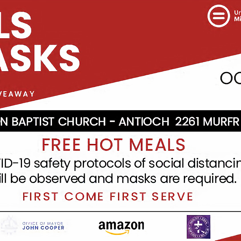 Meals and Masks: Antioch