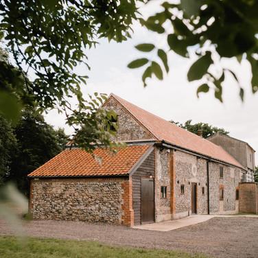 Curds Hall Barn External