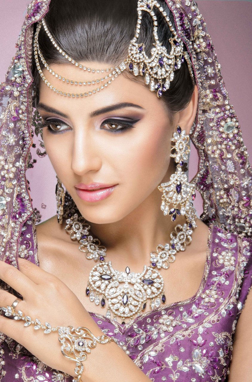 asian indian bridal makeup training courses, asian wedding makeup