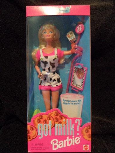Got Milk?  Barbie
