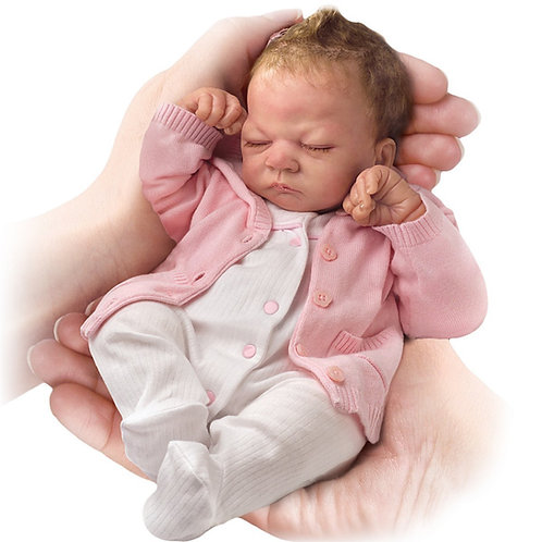 Emmy - Tiny Miracle - (Sleeping) - by Ashton-Drake