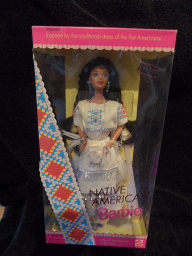 Native American Barbie - 1st in Series