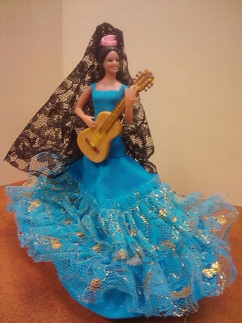 Spanish Dancer --blue