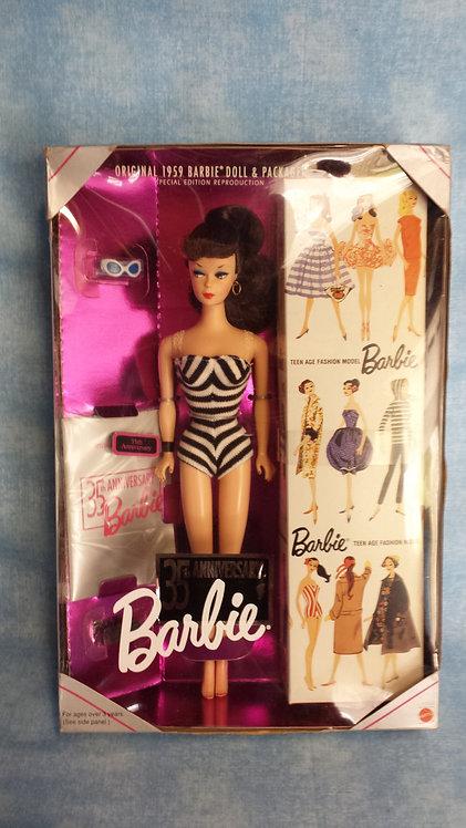 Brunette 1959 Ponytail Barbie