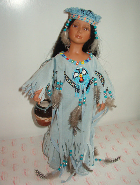 Fawn - Porcelain Native American