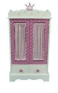 Armoire for 18 inch dolls